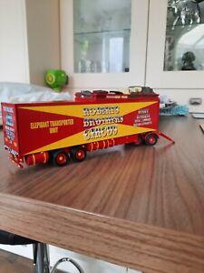 Code 3 Circus/Showmans Elephant drawbar transporter  trailer  1:50 scale