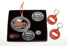 Hooters San Diego Uniform Bottle Beer Opener Key Chain Pin 20th Ornament Patches