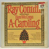 "Ray Conniff ""Here We Come A~Caroling"" Original Shrink Vinyl LP Columbia Records"