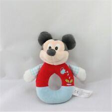 Doudou hochet Mickey rouge bleu arrosoir DISNEY NICOTOY - Souris - Rat Hochet