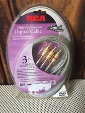 New listing Rca Dt3Av High Performance Digital 24 K Gold Plated 3ft Nib Unopened