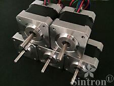 NEW! Lot of 5 NEMA 17 1.8° 2.6 kg.cm flat shaft Stepper Motor 3D Printer RepRap