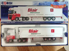 Corgi Modern 1.50 Heavy DAF XF Fridge trailer Blair International CC14118 Mint