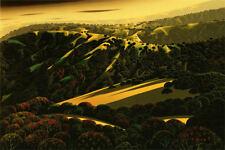 """Eyvind Earle     """"Santa Cruz Mountains""""    MAKE  OFFER    DSS"""