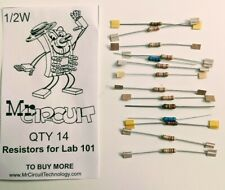 14 Resistor Assortment For Mr Circuit Multimeter Lab Ship Day Ordered Mr Circuit
