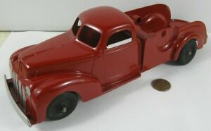 """Vintage 1950's Die Cast Hubley Kiddie Toy 474 Wrecker Tow Truck Restored 9 1/2"""""""