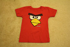 Angry Bird T-shirt size 4T toddler boys red short sleeves