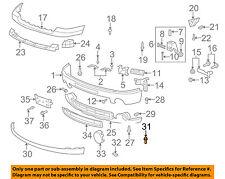 GM OEM FRONT BUMPER-Lower extn bolt 11610199