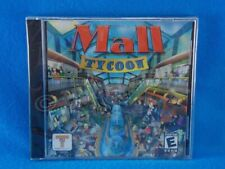 Mall Tycoon (2004, Win PC CD-ROM) Build the Ultimate Mega Mall Simulator Pre Own