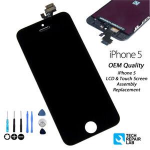 NEW Original iPhone 5 Retina LCD Digitiser Touch Screen Assembly - BLACK