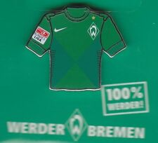 Werder Bremen  Pin / Pins: Trikot Pin - grün - ohne Sponsor - mit BL Patch
