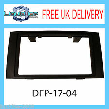 DFP-17-04 VOLKSWAGEN TOUAREG 2003 ONWARDS BLACK DOUBLE DIN FASCIA FACIA PANEL