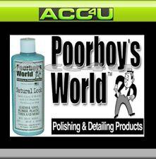 poorboy's POORBOYS MONDIAL Look Naturel Cuir de voiture vinyle caoutchouc