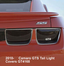 10-13 Chevrolet Camaro LS LT SS ZL1 GTS Acrylic Smoke 4pc Taillight Covers Set