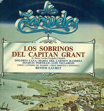 LA ZARZUELA LOS SOBRINOS DEL CAPITAN GRANT CAVA RAMIREZ BENITO LAURET LP (L7597)