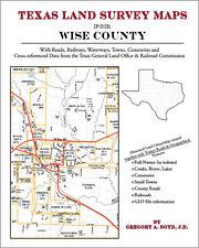 Wise County Texas Land Survey Maps Genealogy History