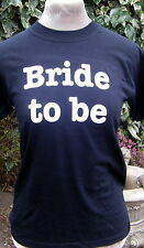iron on transfer bride to be + small one FREE for wedding hen party ETC.