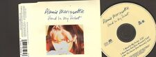 ALANIS MORISSETTE 3 tr  CDSINGLE Hand in my Pocket LIVE ACOUSTIC Not The Doctor
