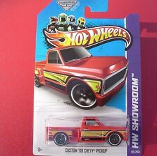 RED Custom '69 Chevy Pickup. 2013 HW Showroom. 161/250. New in Blister Pack!