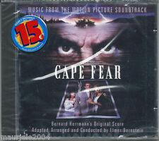 Cape Fear. O.S.T. (1991) CD NUOVO SIGILLATO Colonna Sonora Origi Elmer Bernstein