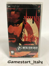 Metal Gear Solid Portable Ops Konami PSP Sony Usato in ottime condizioni Complet