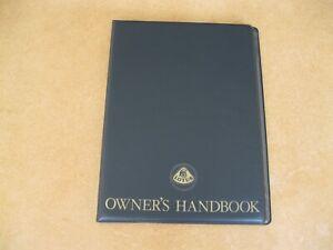 Lotus Elite S2 Handbook New Obsolete