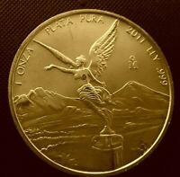 2011 Mexico Libertad - 1 oz .999 Silver Coin - BU 9-9