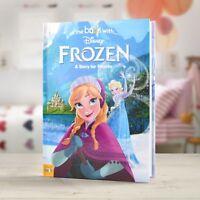 Personalised Children Book Disney Frozen Hardback Book - In The Book Stories