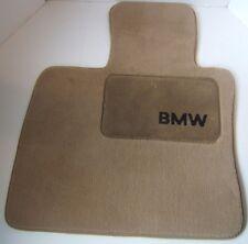 BMW Carpet Floor Mats Beige Sand Color Used Set of 4 Genuine OEM N 01509