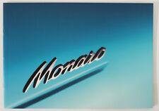 Holden Monaro V2 Coupe Sales Brochure Memorabilia Man Cave 8 Pages