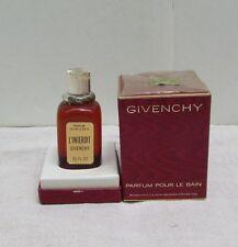 Vintage Givenchy France L'Interdit Parfum Pour le Bain .95 Oz Unused