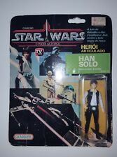 RARE 1977 GLASSLITE BRAZIL Han Solo Vintage Star Wars Action Figure