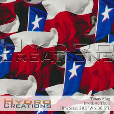 HYDROGRAPHIC FILM FOR HYDRO DIPPING WATER TRANSFER FILM TEXAS STATE FLAG