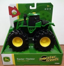 NEW John Deere Monster Treads Tractor, Lights & Sounds, Ages 3+ (TBEK37651T)