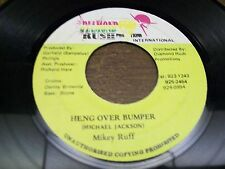 "Mikey Ruff-Heng Over Bumper-7""-45-Reggae-Diamond Rush Records-Made in Jamaica"