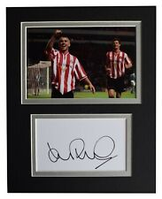 Kevin Phillips Signed Autograph 10x8 photo display Sunderland Football COA