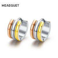 Trendy Small Hoop Earrings Fashion Silver Rose Gold Xmas Gifts For Her Mum Women