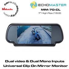 "Echomaster MM-70-CL 7"" Clip On Mirror Monitor"
