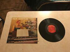 Vintage LP Vinyl Record Ken Griffin Play Romantic Waltzes Columbia CL 1365