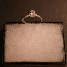 Anillos de joyería con diamantes solitario aniversario