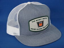 The Nicest People Drive Oliver Tractors - Denim/Mesh - K Brand - US Assembled