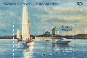 Aland Boats Scandinavia Nordic Countries Life At The Coast Finland Mint MNH 2010