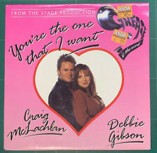 """Craig McLachlan & Debbie Gibson You're The One That I Want 7"""" Epic 6595227 1993"""