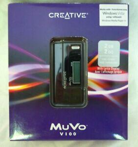 Creative MuVo V100 Black (2 GB) Digital Media Player