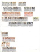 España. Conjunto de 398 sellos de Alfonso XIII separados por emisiones
