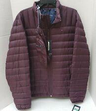 NWT Tommy Hilfiger Jacket Coat Natural Duck Down Zip Light Packable Bag NEW L