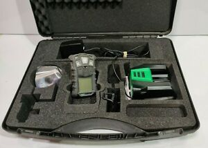 MSA Altair 4x Multi Gas Monitor Dectector LEL/H2S/CO/O2 + Case and charger