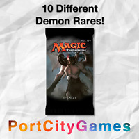 Lot of 10 Demon Lot Magic MTG w/ ALL Rares & Mythic Rares!
