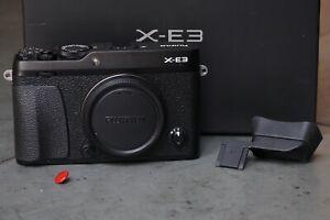 Fujifilm X-E3 24,3MP  - Schwarz, Zubehörpaket, TOP, OVP