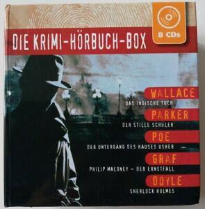 Hörbuch / Hörbücher * Die Krimi - Hörbuch - Box *      8 CD
